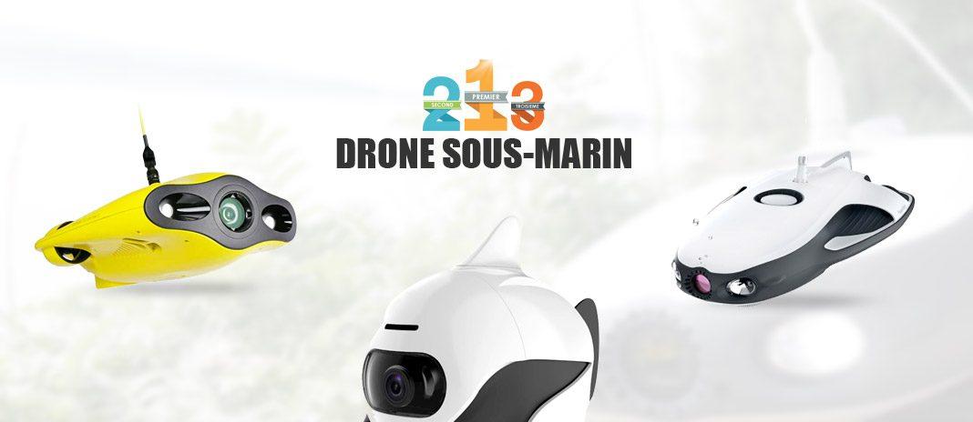 drone sous-marin comparatif