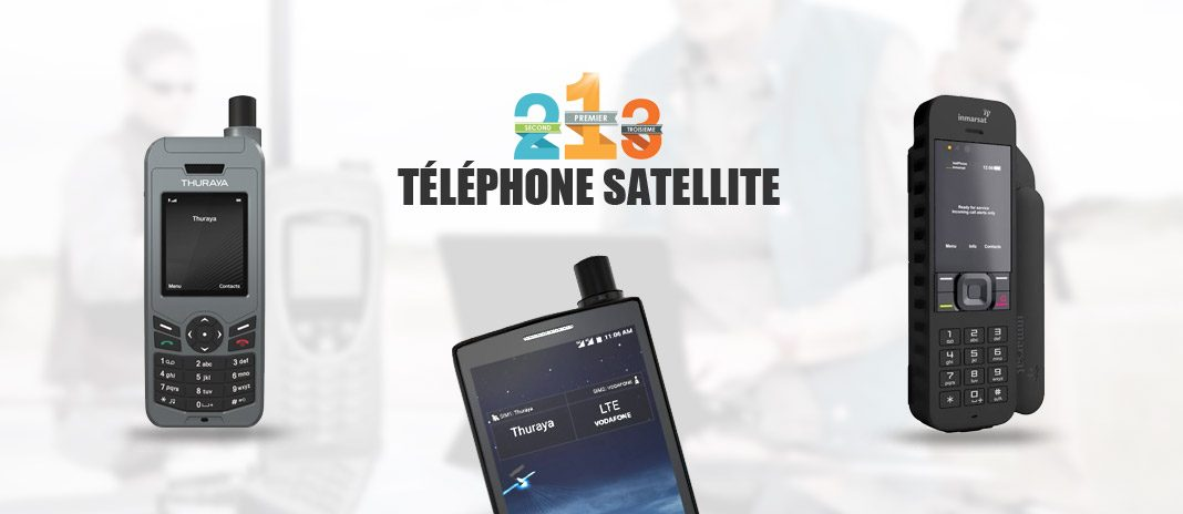 telephones satellites comparatif