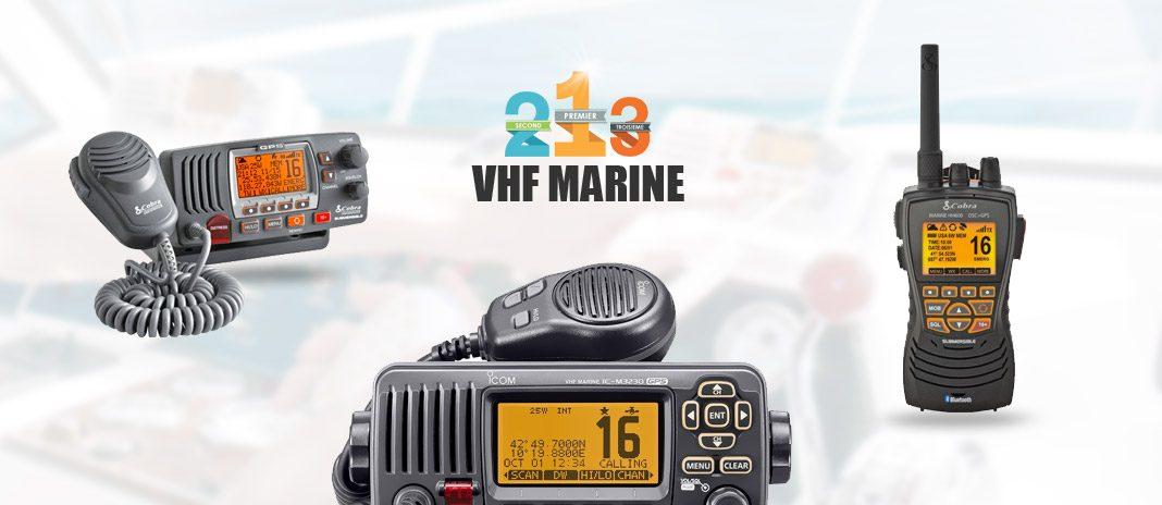 vhf marine comparatif