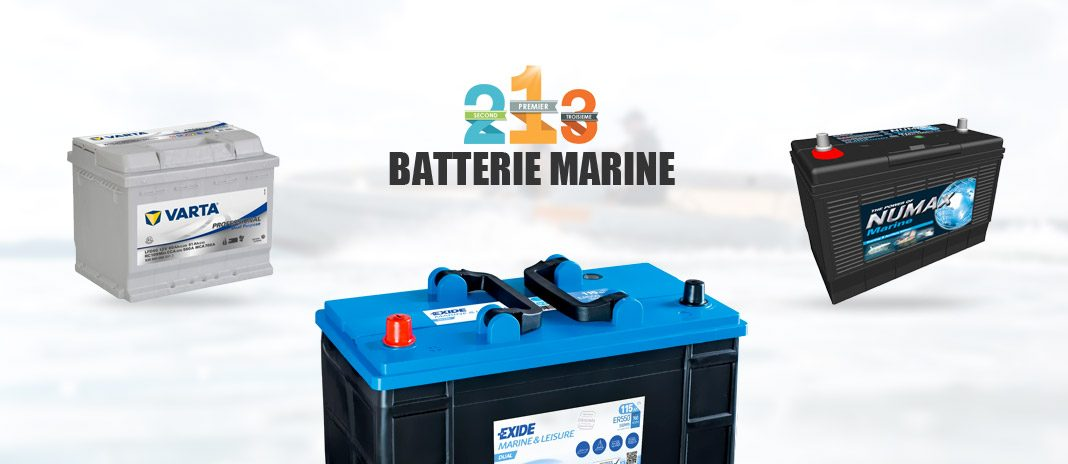 batteries marines comparatif