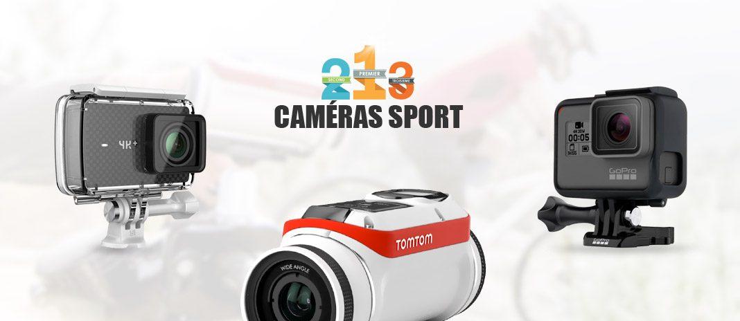 comparatif cameras sport