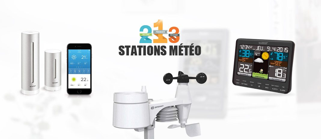 comparatif stations meteo