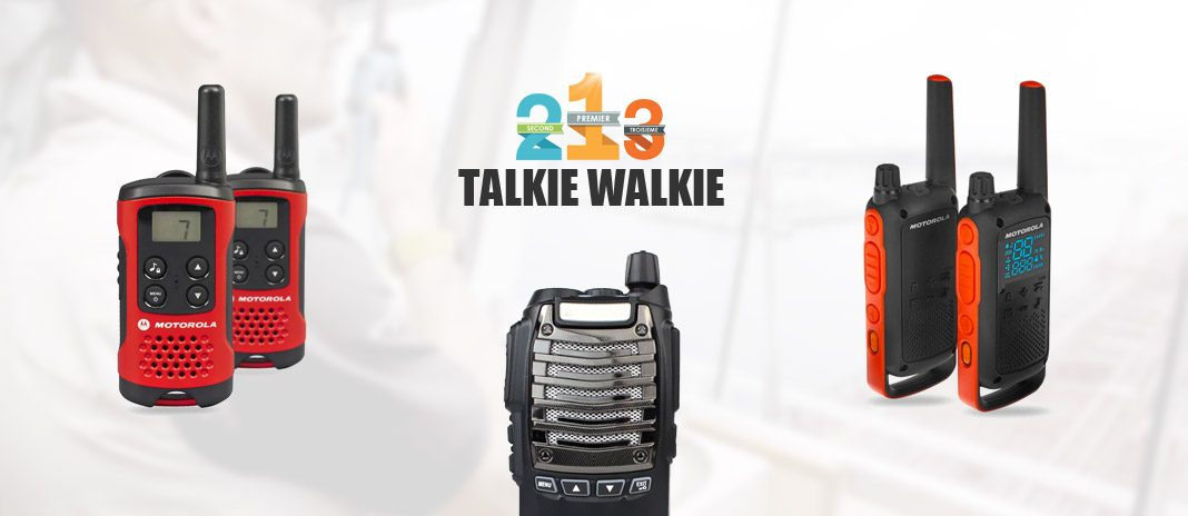 comparatif talkies-walkies