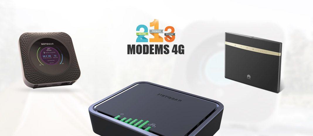 comparatif modem 4G