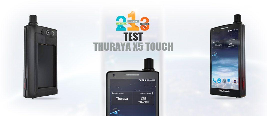 test Thuraya X5 Touch